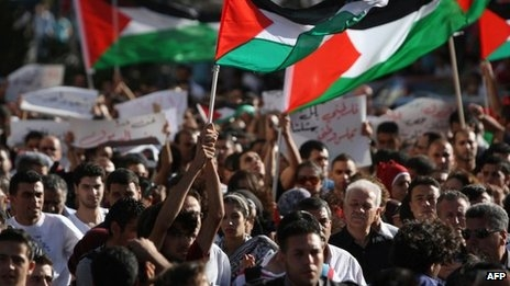 This past weekend, Palestinians, young and old, marched in Ramallah towards the headquarters of the Palestinian Authority, the Muqata'a to protest the Palestinian Authority's ongoing failure to represent and protect...