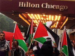 "By Bill Chambers, Chicago Monitor Attendees of the Jewish United Fund ""Chicago Stands With Israel"" fundraiser at the Chicago Hilton last night were met with over 250 protestors picketing outside as […]"