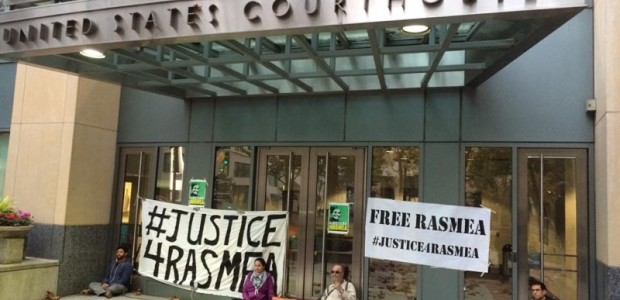 For Immediate Release –November 12, 2014 ACTIVISTS LOCKDOWN US FEDERAL COURT IN SUPPORT OF TORTURED CHICAGO COMMUNITY LEADER Oakland Rallies Against Conviction of Palestinian Organizer Press Contact: Lara Kiswani:530.220.2842(Oakland), Hatem […]