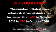 Take Action: Sign USPCN's Petition to #StopAD: sign your name to take a stand against the Israeli policy of administrative detention! Share this with your friends, tweet us @USPCN, and […]